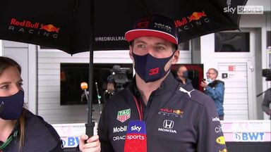 Verstappen on Russia penalty and Hamilton
