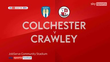 Colchester 0-1 Crawley