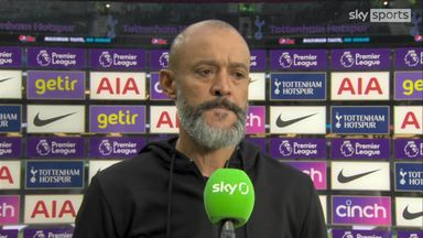 Nuno: We needed to score in first half