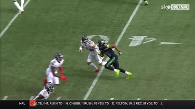 Lockett makes defenders collide on 63-yard TD catch and run