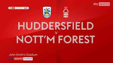 Huddersfield 0-2 Nott'm Forest