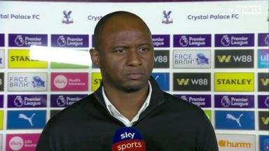 Vieira: Draw is difficult to accept