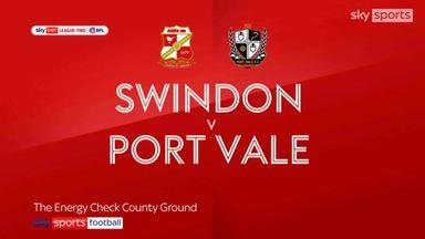Swindon 1-2 Port Vale