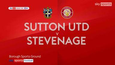 Sutton 2-1 Stevenage