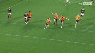 Kellaway scores first try of the game
