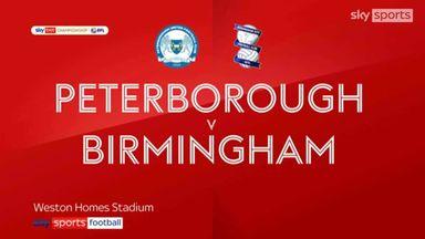 Peterborough 3-0 Birmingham