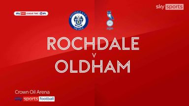 Rochdale 0-1 Oldham
