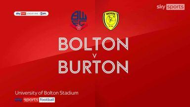 Bolton 0-0 Burton