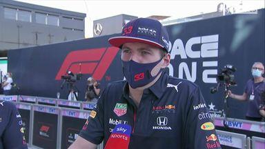 Verstappen on 'very unfortunate' Hamilton crash