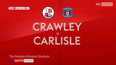 Crawley 2-1 Carlisle