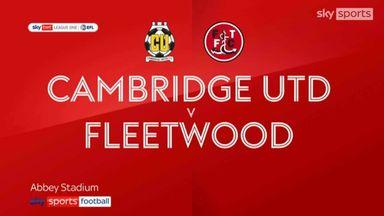 Cambridge 2-2 Fleetwood