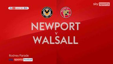 Newport 2-1 Walsall