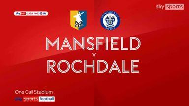 Mansfield 1-1 Rochdale