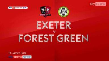 Exeter 0-0 Forest Green