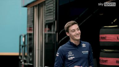 Russell focusing on job at Williams