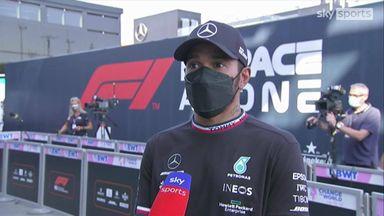 Hamilton: Verstappen was too aggressive