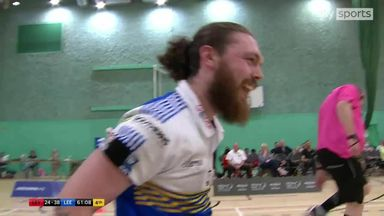 Clibbens clinches win for Leeds