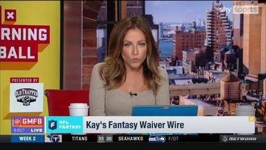 Kay Adams' NFL Fantasy picks for Week Three