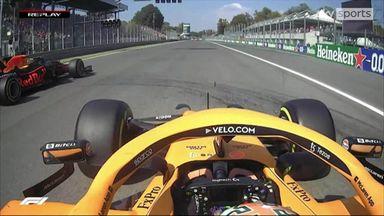 Italian GP race start analysed
