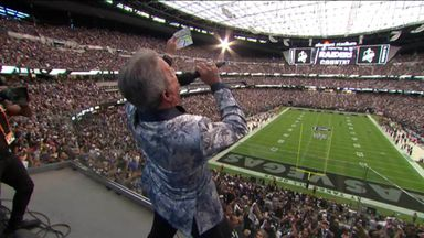 Buffer sends Raiders fans wild with epic intro