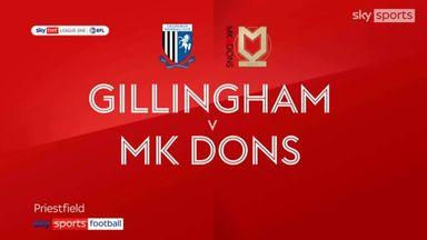 Gillingham 1-4 MK Dons