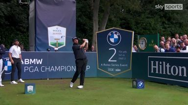 BMW PGA Championship: R2 highlights