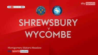 Shrewsbury 1-2 Wycombe