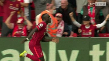 Mane scores 100th goal for Liverpool