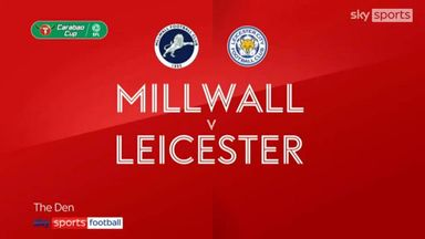 Millwall 0-2 Leicester