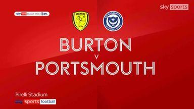 Burton 2-1 Portsmouth