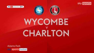 Wycombe 2-1 Charlton
