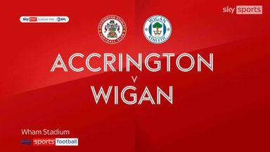 Accrington 1-4 Wigan
