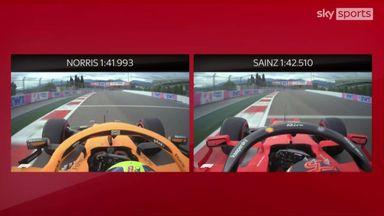 Skypad Analysis: Norris vs Sainz