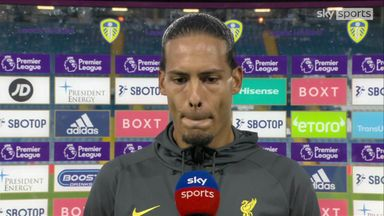 Van Dijk: All our thoughts are with Elliott