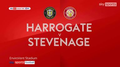 Harrogate 0-0 Stevenage