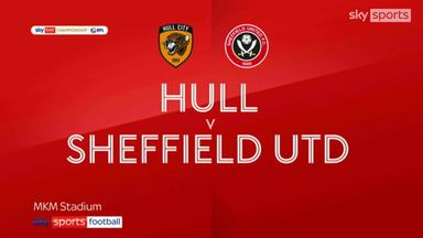 Hull 1-3 Sheff Utd