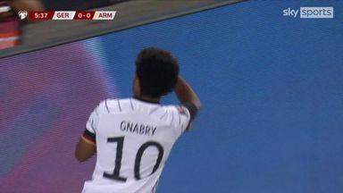 Early Gnabry goal puts Germany ahead