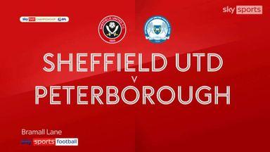 Sheffield United 6-2 Peterborough
