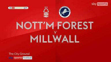 Nottingham Forest 1-1 Millwall