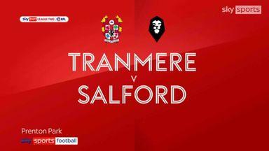 Tranmere 2-0 Salford