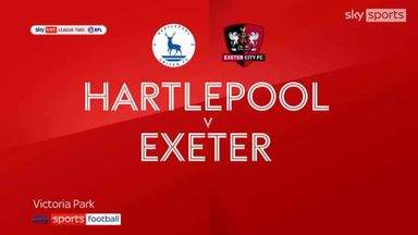 Hartlepool 1-1 Exeter