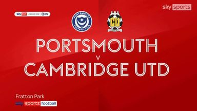 Portsmouth 1-2 Cambridge