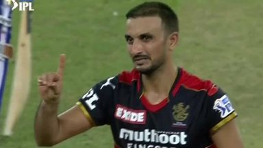 RCB star Harshal takes IPL hat-trick