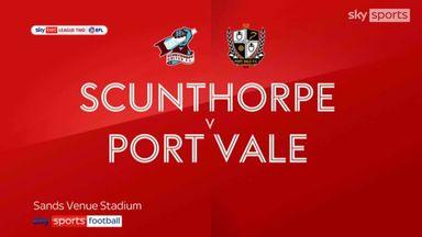 Scunthorpe 0-1 Port Vale