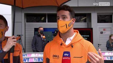 Ricciardo: Leading felt like home