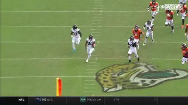 Jamal Agnew rips off unbelievable 102-yard TD return!