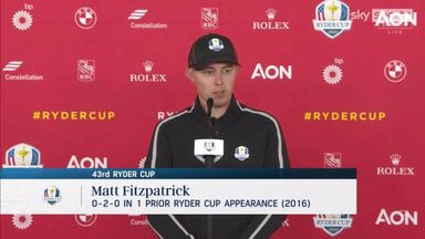 Fitzpatrick: I'm better than my Ryder Cup debut