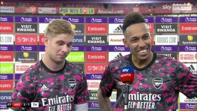Smith Rowe: It's the best day of my life!