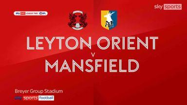 Leyton Orient 0-0 Mansfield
