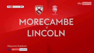 Morecambe 2-0 Lincoln